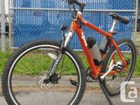 GIO H1 VOLT ELECTRIC HILL BIKE.  More compared to a