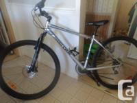 29;mens 21speed mountain bike front disk brakes,works