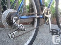 Precision PR6050 18 speed mountain bike with Shimano