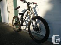 Free Ride Downhill bike, Custom DirkWorks Frame, Bomber