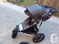 Good condition single Mountain Buggy Terrain stroller.