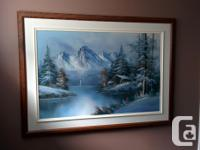 """Seems painted. Not sure where it was purchased. Has """"Du"""