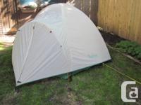 MEC Wabun 3-person Dome Tent Assembles in minutes
