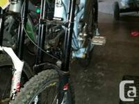 2007 RM RMX downhill bike. Full suspension, three-way