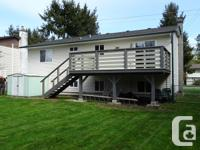 # Bath 2 Sq Ft 1524 # Bed 4 Centrally located in Comox,