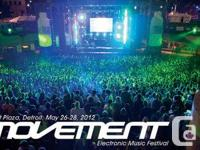 I'm selling my ticket for this years Movement Festival