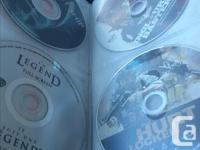 157 Movie DVD ..... 32 Music DVDs.. most in the