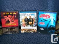 Assortment DVD movie titles all w/original covers