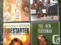 These DVDs are in mint condition, most bought new and
