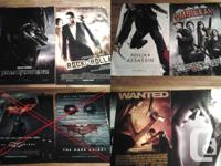 Movie posters up for grabs.  10$Each negotiable. Buy