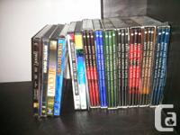 Small collection of DVDs & CDs CDs = $1/each DVDs =