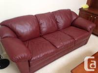 Moving Sale - Marketing:.  3-Piece Sofa Collection: 1