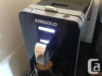 Moving Sale.  I have a Singolo Espresso machine and 3