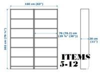 Item 1: Dresser - White - Ikea Billie - Retail: $130