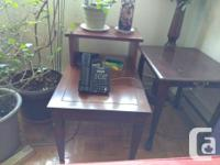 Dining Table and Chairs- $100 Buffet Side Table - $50