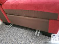 Selling almost brand new L-sectional sofa, coffee