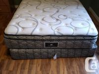 Moving Sale -- Queen Mattress (1.5 yrs old - Excellent