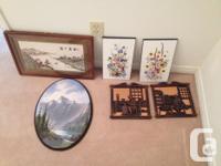 Seniors downsizing, large paintings $40.00 Medium