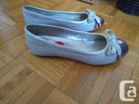 Purple Serina Sandals - Size 8 (new) Rose Gold
