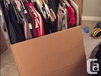 I have three wardrobe boxes for sale that we used