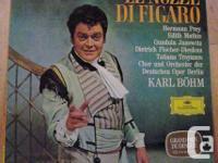 """MOZART """"Le Nozze Di Figaro"""" - Karl Bohm.  Wolfgang"""