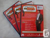 The Whole Bean 3 DVD's box set of Mr. Bean, with a