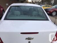 Make Chevrolet Model Cobalt Year 2006 Colour White kms