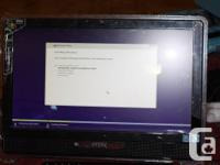 All-in-One Desktop PC with touch Screen $640/OBO  CPU: