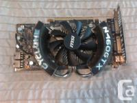 I'm looking to sell my Gtx 460 as I have just purchase