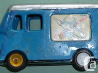 MSK Cragston's Milk Vehicle. Marks inside diamond shape