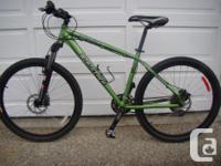 "24 rate Norco Mt Bike, 17"" aluminum structure, 26""x"