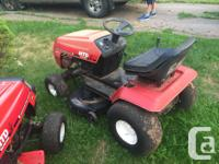 MTD 12.5 HP Ride-on Lawnmower. Runs well, call  between