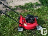 3.5 hp Briggs and Stratton engine. New starter rope and