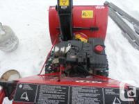 MTD Snowblower 10hp 28 inch Nice Blower - Starts, Runs,