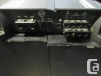 MONEYMAXX HAS A MTX 4 CHANNEL (TC4004) AMP FOR SALE.