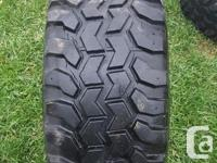 These are 33 inch tires they were on my 89 Ford F150.