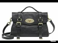 Brandnew   Black and coffee color mulberry alexa