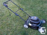 MTD YardWorks 2-n-1 Lawnmower for Sale. Designed to