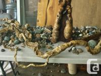 Decorative driftwood, use as display screen or for