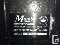 For Sale-Mumby RV Hitch Adapter, converts kingpin to