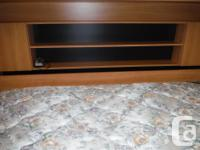 Beautiful murphy bed with lots of storage..... 2