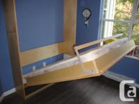A lovely and well built brand new Murphy Wall Bed, made