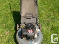 "Murray lawnmower 21"" blade 158cc 5HP Briggs and"