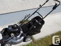 Good condition self propelled 20 inch Murray Pro