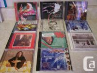 Have assortment music CD's for sale at $3. EACH FIRM