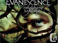 Music dvd   Evanescence anywhere but home dvd/cd combo