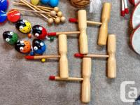 Lots and lots of musical teaching instruments in