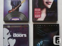 Music DVDs: The Doors, Motown, Ray Charles, Norah
