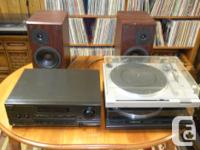 Available for sale Sony Turntable, Technics Receiver as