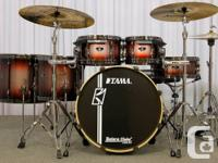 Superstar drum set, new, neuf 2014, unused, with the